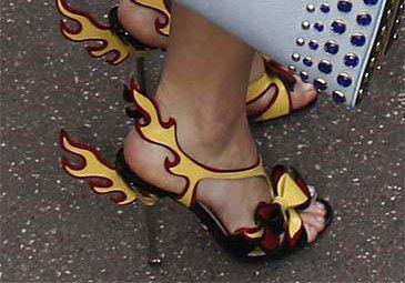 Kto założył takie buty? (FOTO)