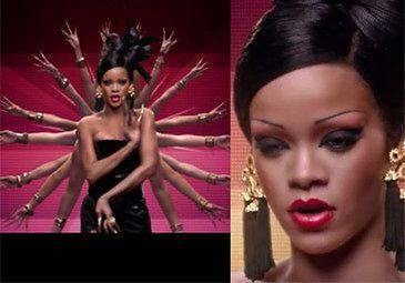 Rihanna jako Azjatka w klipie Coldplay! (ZOBACZCIE)