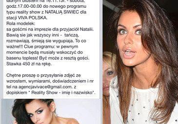 """VIVA szuka... """"PRZYJACIÓŁ"""" do reality show Siwiec!"""