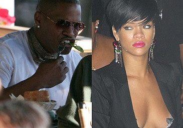 Rihanna wściekła na Jamiego Foxxa!