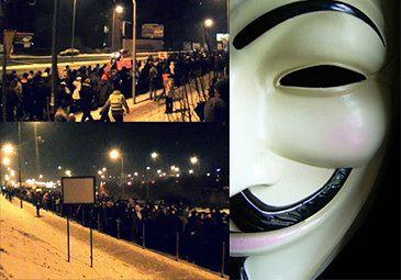 ACTA: Protesty w całej Europie! (Tak było w Krakowie)