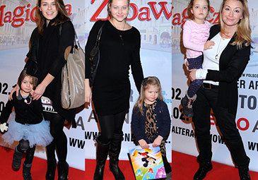 Urbańska i Rubik z córkami na imprezie! (FOTO)