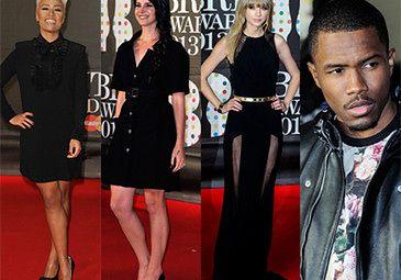 Gwiazdy w czerni na gali Brit Awards! (FOTO)
