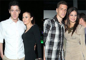 Lewandowski i Szczęsny z dziewczynami na imprezie! (FOTO)
