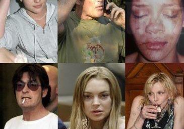 Narkotyki, alkohol, załamania nerwowe: UPADKI GWIAZD! (ZDJĘCIA)