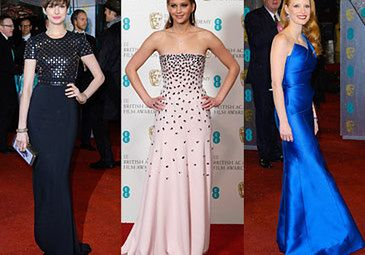 Aktorki na rozdaniu nagród BAFTA! (ZDJĘCIA)