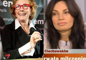 """Wdowa po Ciechowskim: """"NIE POGODZIŁA SIĘ Z TYM, ŻE JĄ ZOSTAWIŁ!"""""""