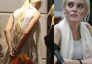 Lindsay ZAKUTA W KAJDANKI! (Foto)