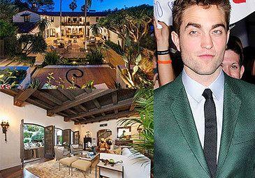 Pattinson sprzedaje dom! ZA 7 MILIONÓW!