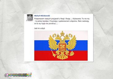 Michał Wiśniewski prosi Rosję o wybaczenie!