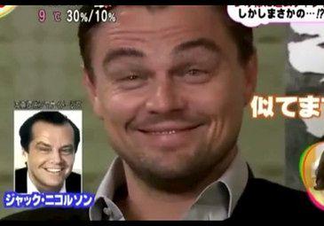 DiCaprio udaje JACKA NICHOLSONA! Podobny?