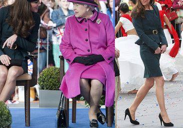 Middleton i królowa na spotkaniu z poddanymi (ZDJĘCIA)