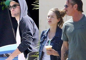 Pattinson MA ROMANS z córką Seana Penna!