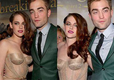 """Stewart i Pattinson NA PREMIERZE """"Przed świtem 2""""!"""