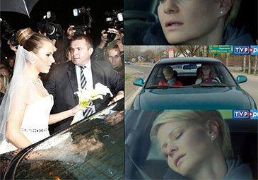 Ślub Kwaśniewskiej wygrał ze... śmiercią Hanki!