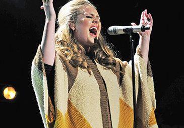 Adele spada z list przebojów!