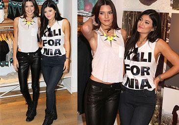 Młodsze siostry Kim promują swoje ubrania! (FOTO)