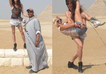 """Szpak z Biernat w Egipcie. """"CHCIAŁ MNIE KUPIĆ!"""" (FOTO)"""