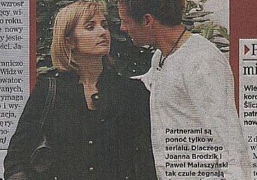 Brodzik i Małaszyński - romans, który nie wypalił...