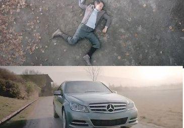 Ostra reklama: Mercedes ZABIJA HITLERA... (WIDEO)