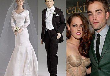 Lalki Pattinsona i Kristen za 1300 złotych (FOTO)