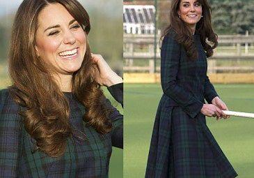 Uśmiechnięta i szczęśliwa księżna Kate (ZDJĘCIA)