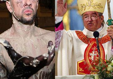 """Głódź oskarża Nergala: """"TO PRAKTYKUJĄCY SATANISTA!"""""""