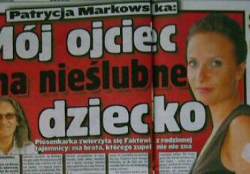 Markowski ma nieślubnego syna