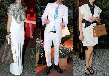 Celebryci w bieli...