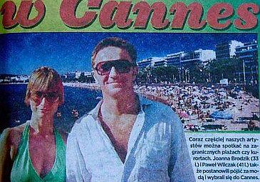 Brodzik i Wilczak w Cannes