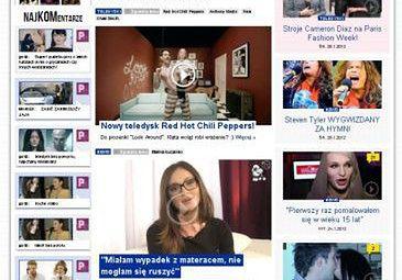 Nagrane gwiazdy na www.Pudelek.TV