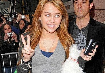 """Miley """"największą wschodzącą gwiazdą""""!"""