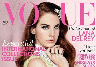 """Lana Del Rey na okładce """"Vogue'a""""!"""