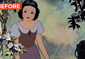 Gdyby księżniczki Disney'a miały oczy normalnych rozmiarów