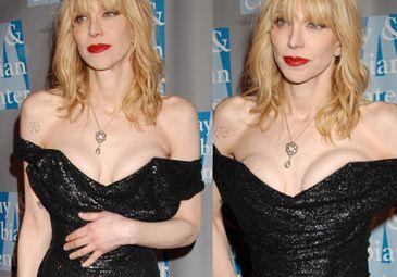 Blada Courtney Love pokazuje biust... SEXY?