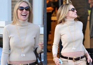 Sharon Stone też bez stanika!