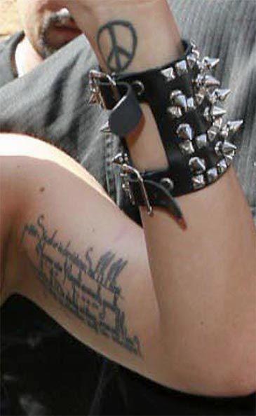 Nowy Tatuaż Lady Gagi Pudelek