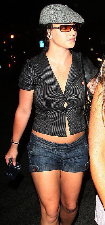 Britney chce zostać kelnerką!