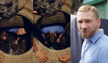 """Przemek Kossakowski szuka złota w kanałach. """"Nie tak to sobie wyobrażałem"""""""