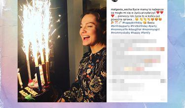"""Socha świętuje roczek córki: """"Bycie mamą to najlepsze co mogło mi się w życiu przydarzyć"""""""