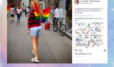 Małgonia wspiera społeczność LGBT