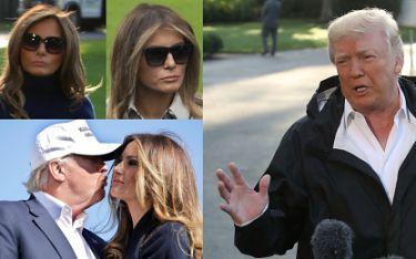 Trump na spotkania z mediami zabiera ze sobą SOBOWTÓRA MELANII? (FOTO)