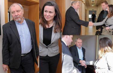 Grabowski i Kruszewska POJEDNALI SIĘ po wyjściu z sali rozwodowej (ZDJĘCIA)
