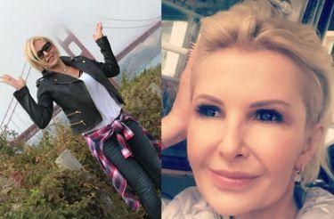 """Joanna Racewicz chwali się wakacjami w USA. """"Elvis where are you?"""""""