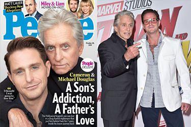 """Michael Douglas o synu uzależnionym od narkotyków: """"Myślałem, że go stracę"""""""
