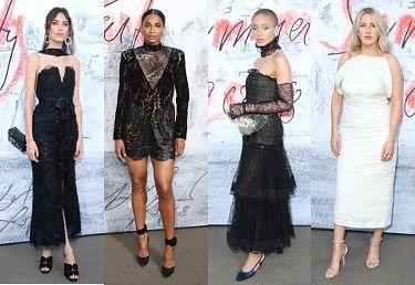 """Gwiazdy na """"londyńskim odpowiedniku gali MET"""": Ciara, Ellie Goulding, Alexa Chung, Adwoa Aboah... (ZDJĘCIA)"""