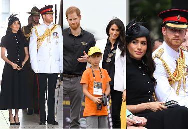 Poważni Meghan Markle i książę Harry świętują odsłonięcie pomnika (ZDJĘCIA)