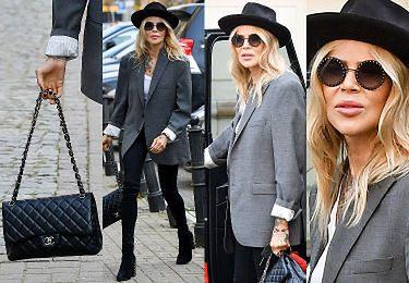 Sablewska i torebka Chanel wysiadają z terenowego Mercedesa (ZDJĘCIA)