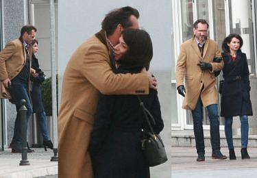 TYLKO U NAS! Randka Kaczyńskiej z kochankiem: romantyczny spacer i gorące pocałunki na molo (ZDJĘCIA)