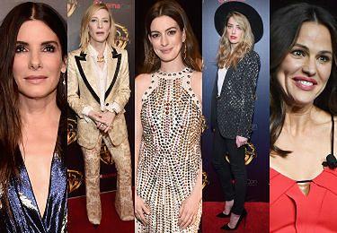 Hollywoodzkie gwiazdy promują się w Las Vegas: Bullock, Blanchett, Hathaway, Heard, Garner... (ZDJECIA)